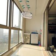 小区阳台隔音窗装饰