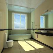 简约风格卫生间通气窗装饰