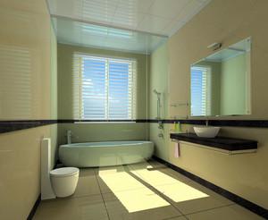 凸显生活享受和品位:都市家庭小卫生间装修效果图欣赏实例