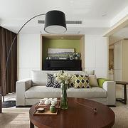 家庭室内简约风格沙发装饰