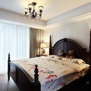婚房美式简约风格卧室效果图