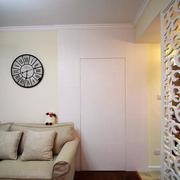 小户型简约风格隐形门装饰