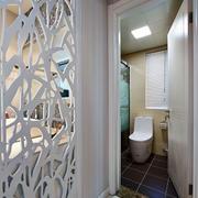 三室一厅现代简约风格卫生间装饰
