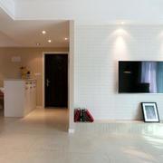 三室两厅简约风格玄关装饰