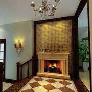 奢华风格壁炉装饰效果图