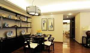老年人的福利:散发祥和气质的中式老年公寓装修效果图