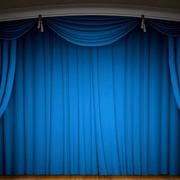 舞台古堡式帷幕装饰