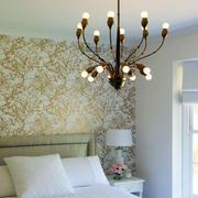 别墅简约风格卧室液体壁纸
