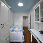 三室一厅简约风格儿童房装饰
