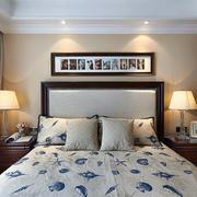 美式简约风格房间照片背景墙装饰