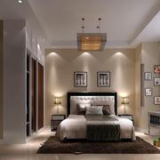 现代简约风格房间背景墙