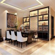 后现代风格整体式酒柜装修