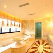 卫生间欧式奢华风格卫生间背景墙