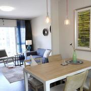 两室一厅简约风格餐厅窗户装饰