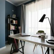 三室两厅后现代风格书房装饰