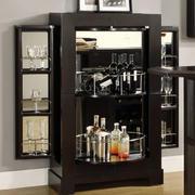 后现代风格深色系简约风格酒柜装饰