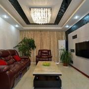 三室一厅后现代风格灯饰装饰