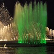 简约风格广场喷泉装饰