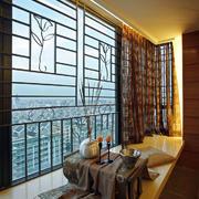 日式简约风格榻榻米飘窗设计