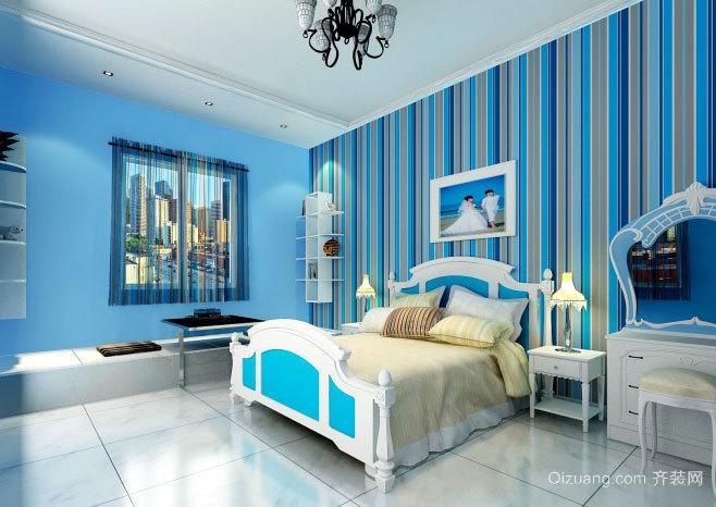 简约异域风情:不一样的地中海风格卧室装修效果图