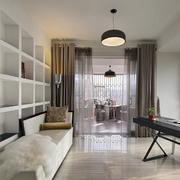 120平米商品房书房装饰