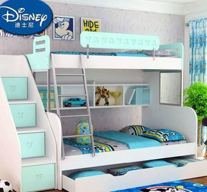 30平米可爱俏皮双床儿童房装修效果图
