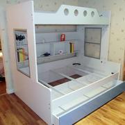 美式简约风格儿童房多功能上下铺装饰