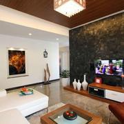 loft风格电视背景墙装饰