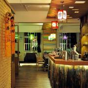 现代简约风格小型酒吧装饰