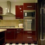 简约风格小型厨房橱柜装饰