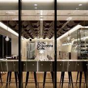 后现代风格咖啡店吊顶