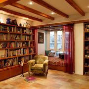 120平米美式老房书房装饰