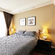 现代简约风格平房卧室床头灯饰装饰