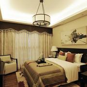 美式简约风格公寓吊顶装饰