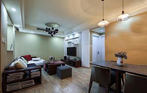 小户型客厅石膏板吊顶装饰