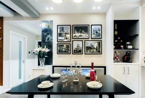 研磨时光:像咖啡似的生活三室一厅室内装修设计效果图