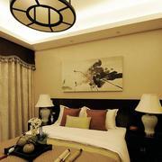 公寓卧室简约风格飘窗装饰