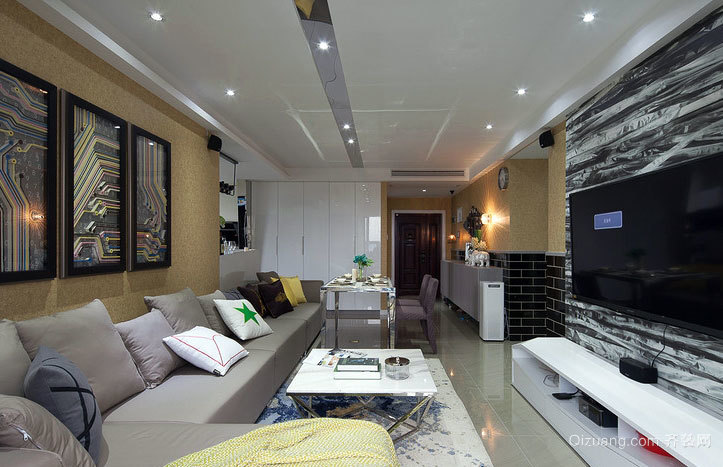 这,就是家 现代简约温馨小型别墅装修设计效果图