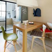 三室两厅简约风格餐厅装饰