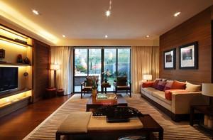 唯美与时尚相结合的客厅装修效果图欣赏
