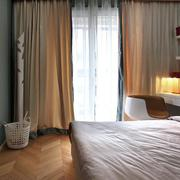 三室一厅简约风格卧室效果图