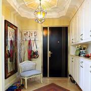 欧式简约风格房屋玄关装饰