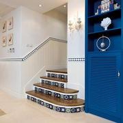 小户型复式楼简约风格楼梯装饰