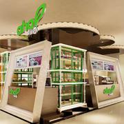 大型商场店面3D外观图装饰