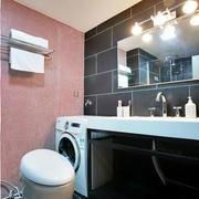 后现代风格灰色系卫生间瓷砖装饰