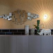 别墅简约风格背景墙装饰