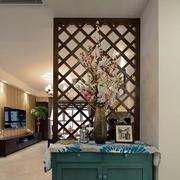 地中海风格客厅隔断装饰