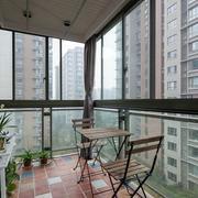现代简约风格小区阳台装饰