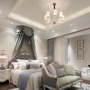 欧式简约跃层公主系卧室效果图