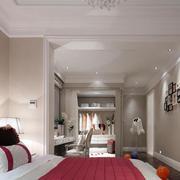 跃层欧式简约风格卧室装饰